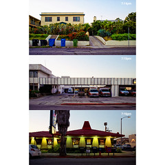 Beverly Boulevard 06.26.09 (isayx3) Tags: park street house building 35mm losangeles nikon driving shot angle wide ambulance sidewalk f2 pizzahut pm d3 beverlyboulevard plainjoe isayx3 june262009 drivography