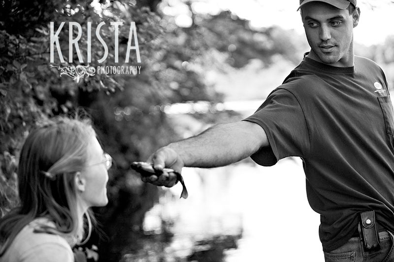 Fishing Engagement Session