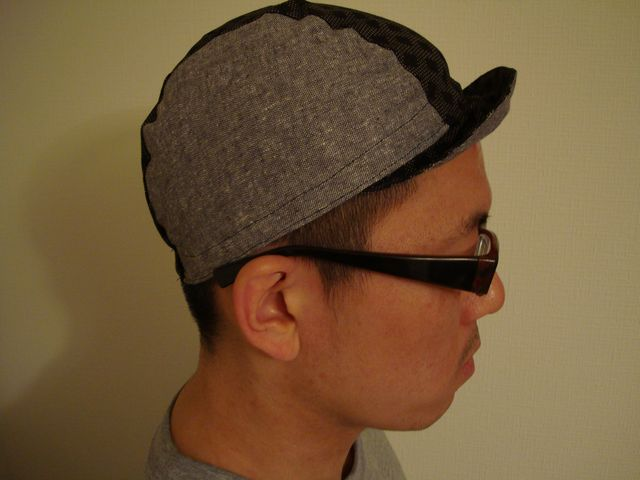 嫁 made cycle cap side
