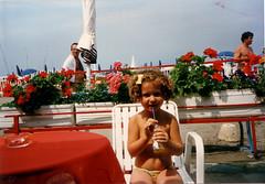 le vacanze dell' 87 ( emme erre ) Tags: summer holiday beach girl liguria memories eighties curlyhair fanta sestrilevante childwood