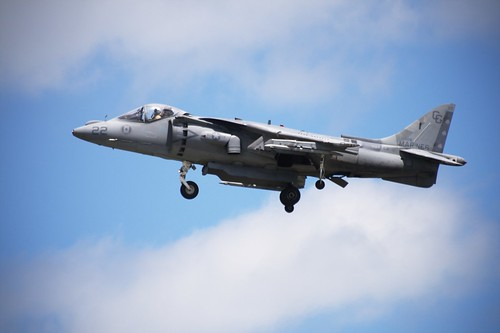Air Show: Harrier Jump Jet (by John Brainard)