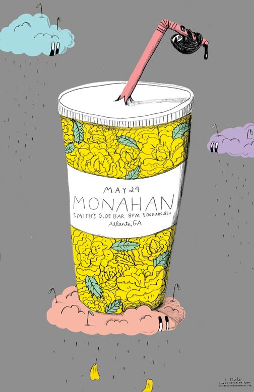 MONAHAN poster