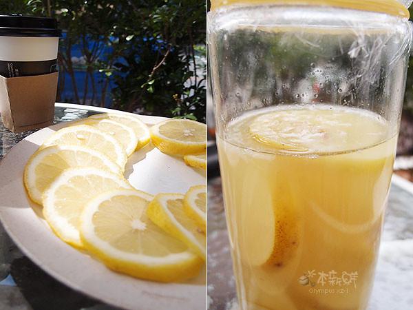 新鮮四季春檸檬 vs. 檸檬液態酵母