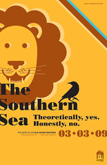 The Southern Sea - Album Promo Poster (bradthedesigner) Tags: no theoretically thesouthernsea yeshonestly