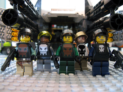 custom Pirate footsoldier minifigs