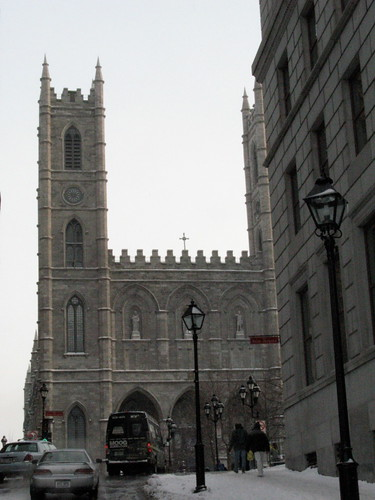 Basilique Notre-Dame in Old Montreal