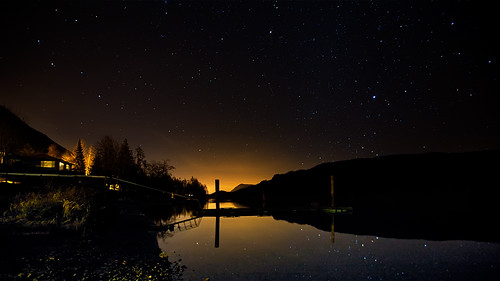 Lake Cohwichan Night