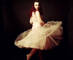 Some days I just feel like twirling in a big dress and not caring that anyone could be watching (miriness) Tags: pink portrait ballet girl studio flow dress spin bodylanguage twirl 50s tutu blackbackdrop miriness