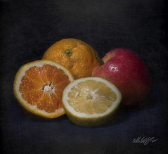 MT - # 24/09 (- Gigapix -) Tags: light stilllife orange lightpainting texture apple painting lemon nikon paint explore limone luce mela arancia naturamorta dipingere dipinto agropoli supershot photographia aplusphoto exploregroup nikond700 gigapix