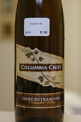 1997 Columbia Crest Gewürztraminer