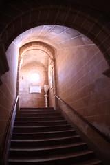 Esglsia de Sant Jaume (diwan) Tags: city espaa church stone canon geotagged eos spain stair place kirche stairway fisheye treppe mallorca stein 2009 spanien balearicislands islasbaleares treppenstufe alcdia raiguer canoneos450d geo:lon=3120294 geo:lat=39851586