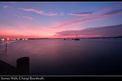 Sunset (Mio Marquez) Tags: landscape singapore changiboardwalk efs1022f3545usm teampilipinas canon40d mmarquez