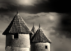 Die drei Trme - the three towers (hiasl_3) Tags: bw bayern sw trme drei stadtmauer unterfranken mainbernheim gettyimagesgermanyq1 gettygermanyq2 gettygermanyq4