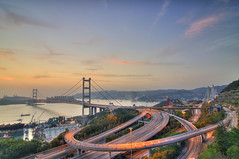 Tsing Ma Bridge - Hong Kong (*waito) Tags: landscape nikon magic getty hdr gettyimages d300 tsingmabridge