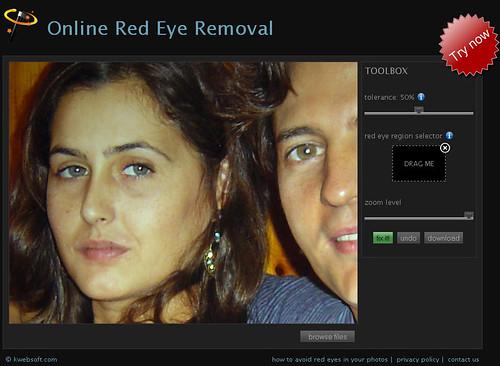 ojos rojos