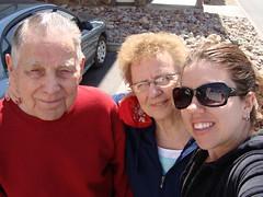 grandpa, grandma, & me