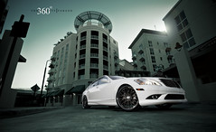 Mercedes S 550 on 360 Forged Mesh 10 (360 Forged) Tags: sunset white sexy buildings mercedes nikon mesh 10 wheels sb600 sigma 360 ten rims forged concave classy hre d300 sb800 vossen s550 hrewheels adv1 vossenwheels 360forged advanceone deepconcave adv1wheels adv05