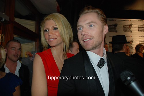 kelly jones wife. Boyzones Ronan Keating and his