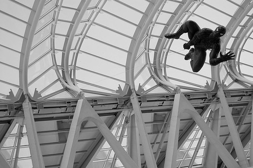 Spidey in Calatrava in Valencia