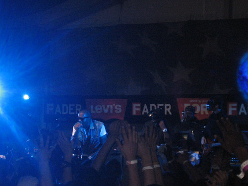 Kanye West @ SXSW / Fader Fort 2009