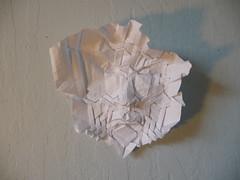 Mask, by Joel Cooper (Origami Weekly) Tags: origami mask joel cooper tessellation