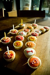 Meriel's Birthday cake(s)