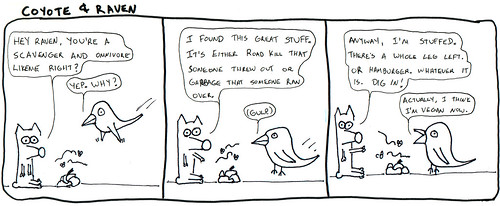 366 Cartoons - 052 - Coyote and Raven
