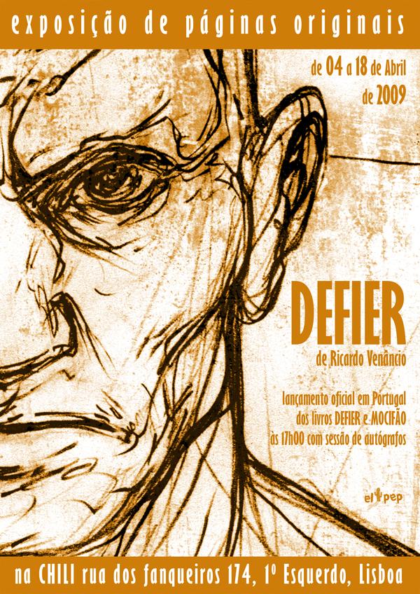 Defier Art Show Poster