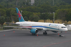 TCS Expeditions (First Choice Airways) Boeing 757-2YO G-OOOX (Flightline Aviation Media) Tags: airplane airport aircraft aviation jet canon10d fortlauderdale boeing 757 stockphoto fll 757200 kfll firstchoiceairways gooox 7572yo tcsexpeditions bruceleibowitz