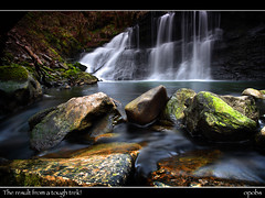 The result from a tough trek! (opobs) Tags: longexposure wet water southwales wales march waterfall rocks explore canon5d frontpage 1000 wfc pontneddfechan 1740mml neathvalley dinasrock welshflickrcymru opobs cokinxpro afonsychryd michaeljstokesawpf