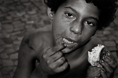 For what we are about to receive... (carf) Tags: poverty life street brazil bw food streets abandoned boys brasil sepia kids children bread hope blackwhite kid community child homeless streetlife forsakenpeople esperana social smoking crack drugs drug cigarettes streetkids streetchildren survival eduardo cocaine drugged homelessness