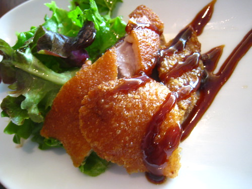 Closer look at the Crispy Duck