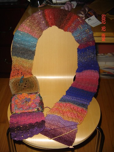 Finished Noro Scarf Group 37