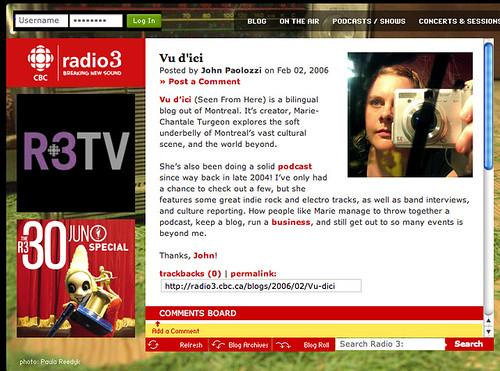 CBC Radio3