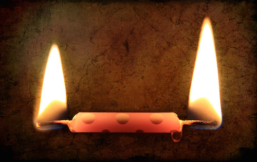Burning My Candle at Both Ends by gfpeck.