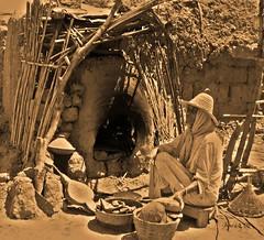 O Forno (_madmarx_) Tags: africa sepia nikon morocco adobe pan fuego marruecos horno forno kasbah coolpix3700 madmarx