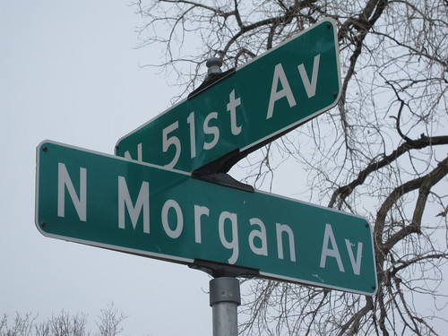 N Morgan Ave at 51st Ave N