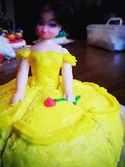 princess cake (victoto :)) Tags: cake yum princess barbie frosting