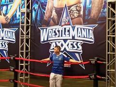 Joe devant Randy Orton