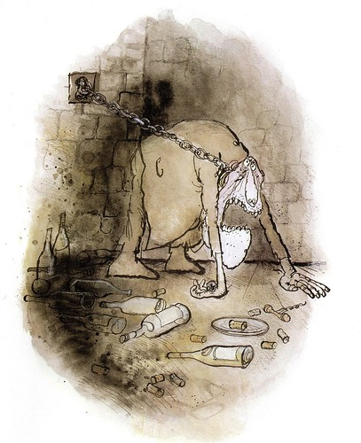 Winespeak - Should remain in cellar for two or three years - Ronald Searle