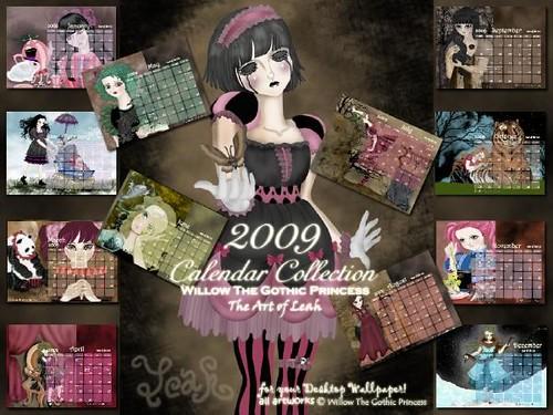 Willow 2009 Calendar