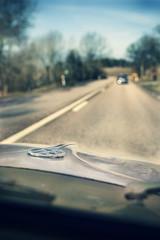 VW (koinis) Tags: road macro window car vw john volkswagen dof beetle sigma front ornament short hood 24mm 18 koinberg koinis