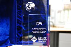 My Microsoft MVP Award (2009) - ado.net, net data provider, ado net tutorial, c# ado net, net postgresql, ado net dataset, ado provider<br />