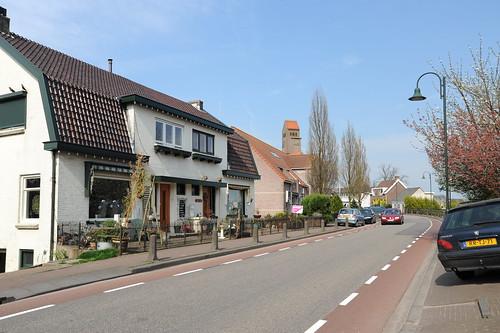 Kinderdijk近辺の街。