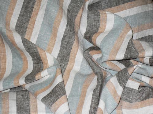Faded Stripes Linen