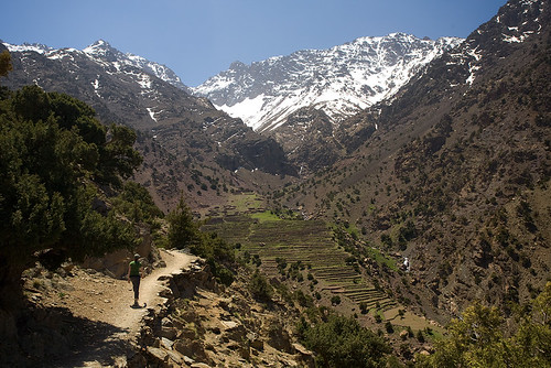 High Atlas, near Imlil, Morocco