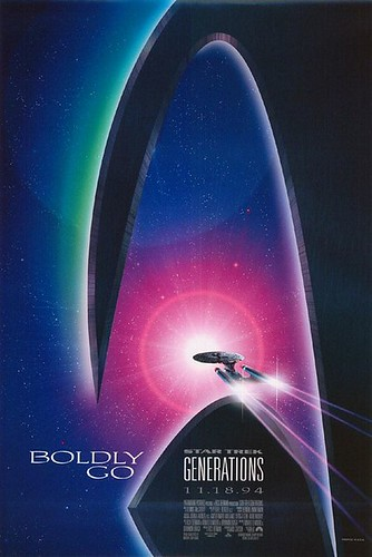 Star Trek: Generations, star trek wallpapers, startrek enterprise voyage, Star trek movie poster