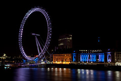 The Eye of London (beachbumhal) Tags: longexposure england london eye night purple longshutter theeye theeyeoflondon theeyeatnight