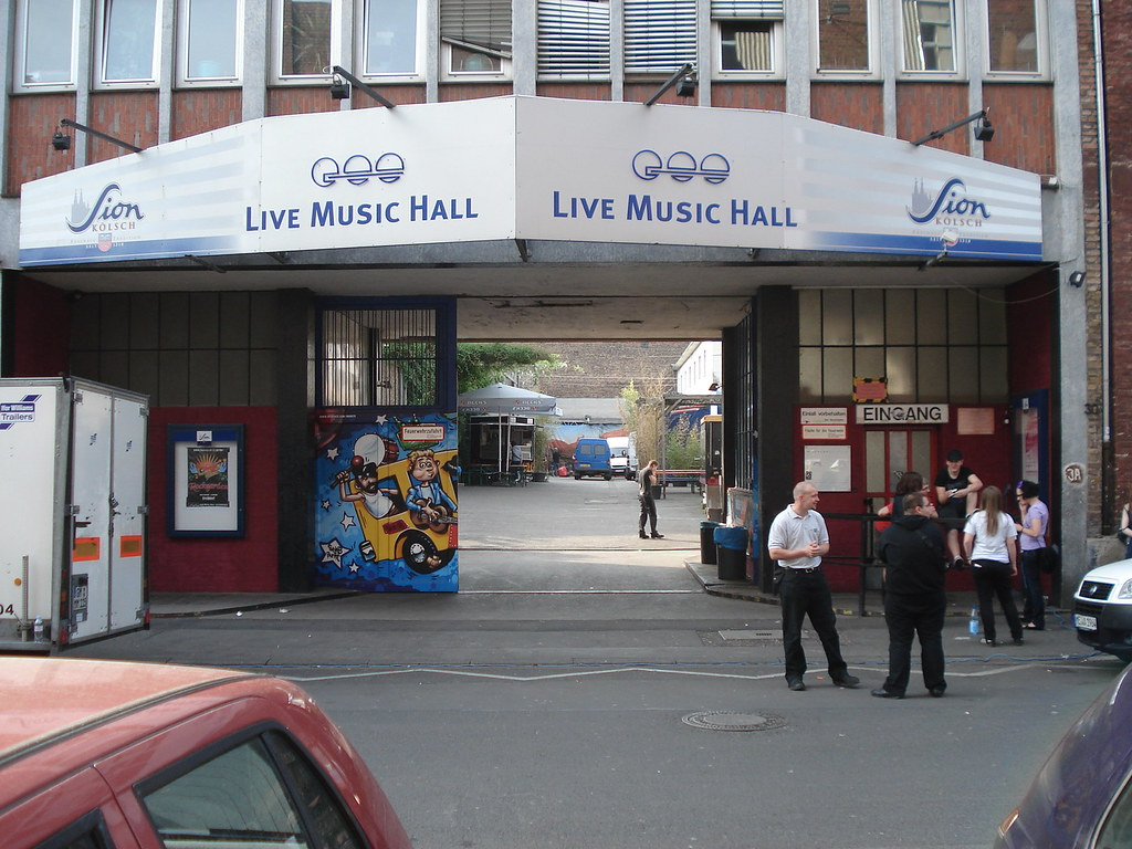 Live music Hall, Cologne