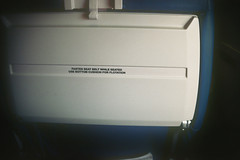 Tray (flossyflotsam) Tags: trip plane airport pentax florida 400asa